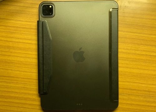 ESR iPad Pro 11 ケースの裏面